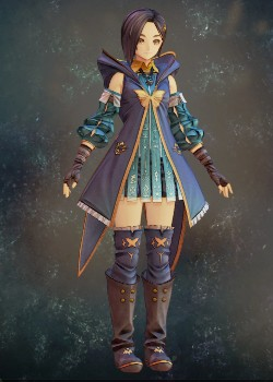 Tales of Arise - Rinwell Inherited Coat Costume Outfit