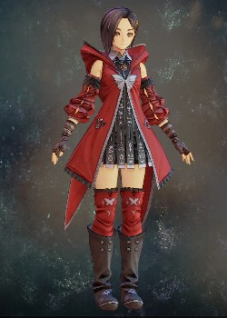 Tales of Arise - Rinwell Scarlet Inherited Coat Costume Outfit
