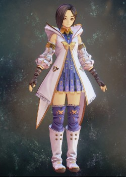 Tales of Arise - Rinwell Lunar Inherited Coat Costume Outfit