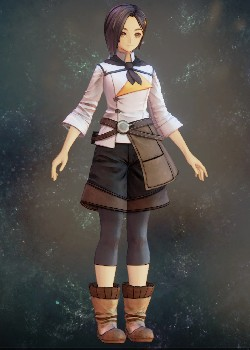 Tales of Arise - Rinwell Clerk Uniform Costume Outfit