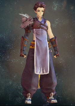Tales of Arise - Law Silver Wolf Vest Costume Outfit