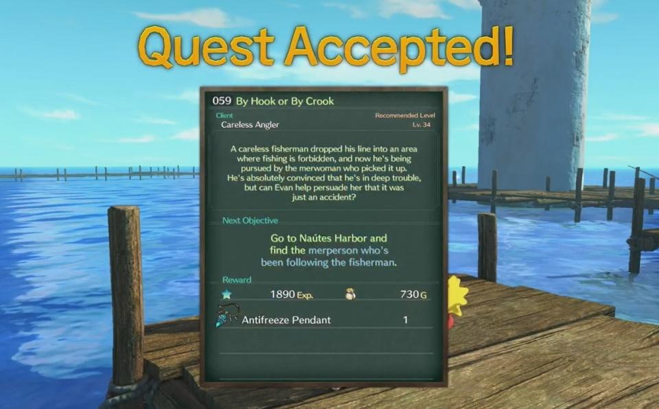 Ni no Kuni 2: Revenant Kingdom - Side Quest 059 By Hook or By Crook Walkthrough