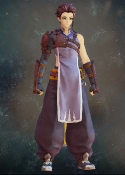 Tales of Arise - Law Wolfless Vest Costume Outfit