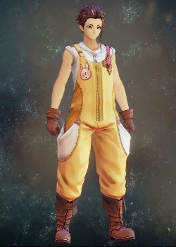 Tales of Arise - Law Farmer's Clothes Costume Outfit