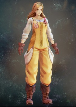 Tales of Arise - Kisara Farmer's Clothes Costume Outfit