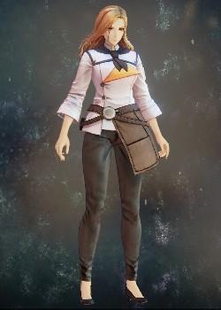 Tales of Arise - Kisara Clerk Uniform Costume Outfit