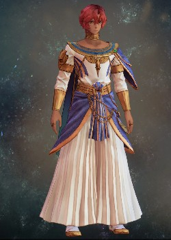 Tales of Arise - Dohalim il Qaras Traditional Attire Costume Outfit