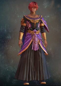 Tales of Arise - Dohalim il Qaras Mourning Attire Costume Outfit