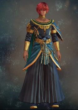Tales of Arise - Dohalim il Qaras Dancing Attire Costume Outfit