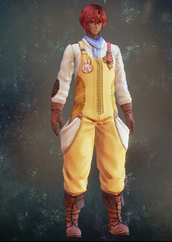 Tales of Arise - Dohalim Farmer's Clothes Costume Outfit