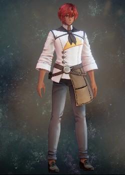 Tales of Arise - Dohalim Clerk Uniform Costume Outfit