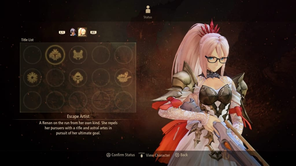 Tales of Arise - How to Unlock Titles