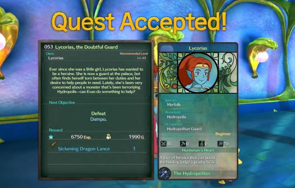 Ni no Kuni 2: Revenant Kingdom - Side Quest 053: Lycorias, the Doubtful Guard Walkthrough