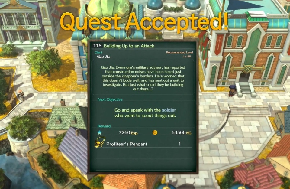 Ni no Kuni 2: Revenant Kingdom - Side Quest 118: Building Up an Attack
