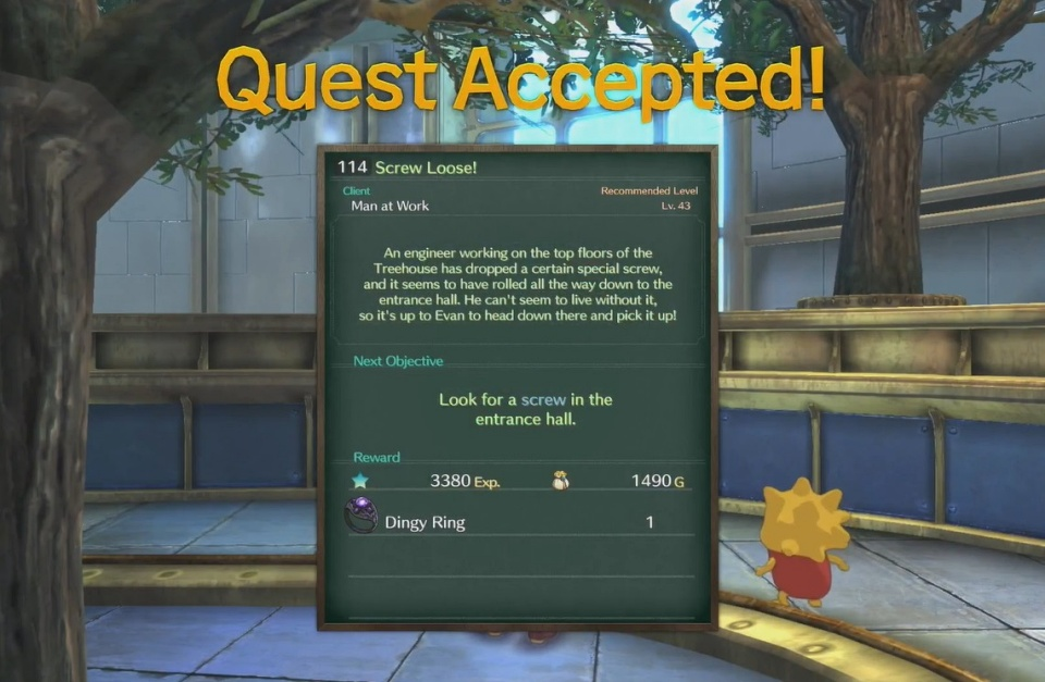Ni no Kuni 2: Revenant Kingdom - Side Quest 114: Screw Loose!