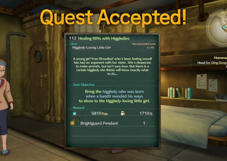 Ni no Kuni 2: Revenant Kingdom - Side Quest 112: Healing Rifts with Higgledies