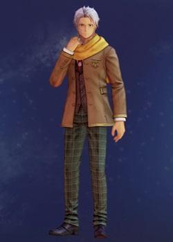 Tales of Arise - Alphen Boys' School Uniform B Costume Outfit