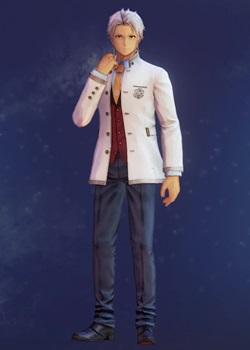 Tales of Arise - Alphen Boys' School Uniform C Costume Outfit