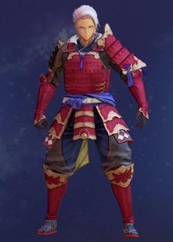 Tales of Arise - Alphen Samurai Armor A Costume Outfit