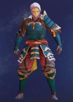 Tales of Arise - Alphen Samurai Armor B Costume Outfit