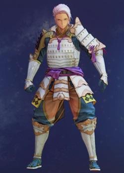 Tales of Arise - Alphen Samurai Armor C Costume Outfit