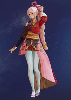 Tales of Arise - Shionne Battlemaiden C Costume Outfit