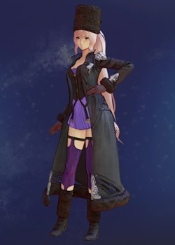 Tales of Arise - Shionne Mia's Blood Veil Costume Outfit