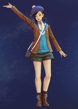 Tales of Arise - Rinwell Owl Uniform B Costume Outfit