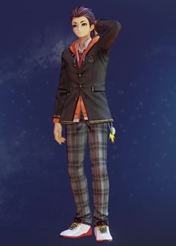 Tales of Arise - Law Uniform with Hoodie A Costume Outfit