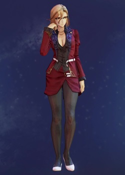 Tales of Arise - Kisara Fiery Teacher Suit B Costume Outfit