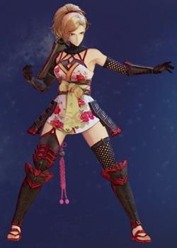 Tales of Arise - Kisara Female Samurai Armor A Costume Outfit