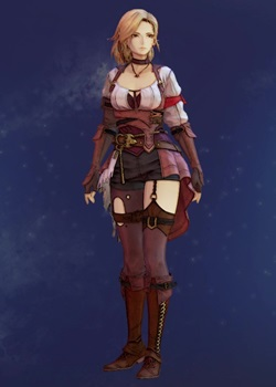 Tales of Arise - Kisara Pre-Guard Getup Costume Outfit