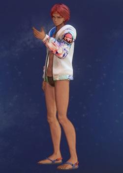 Tales of Arise - Dohalim Explosive Swim Briefs C Costume Outfit