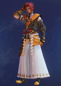 Tales of Arise - Dohalim Shogun Regalia B Costume Outfit