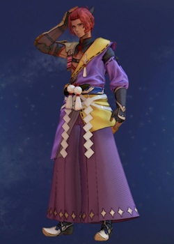 Tales of Arise - Dohalim Shogun Regalia C Costume Outfit