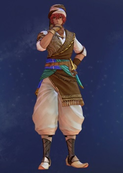 Tales of Arise - Dohalim Chic Vagabond Costume Outfit