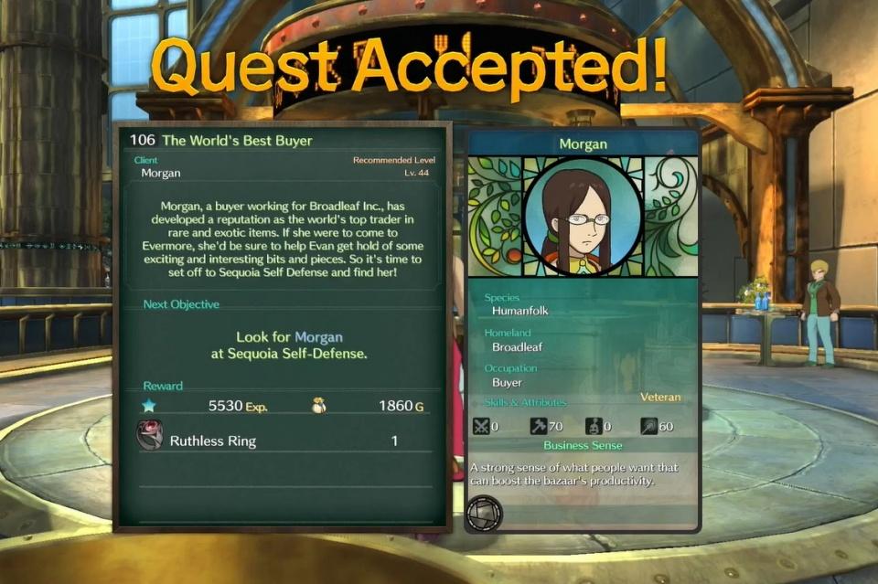 Ni no Kuni 2: Revenant Kingdom - Side Quest 106: The World's Best Buyer