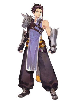 Tales of Arise - Law Character Full Body