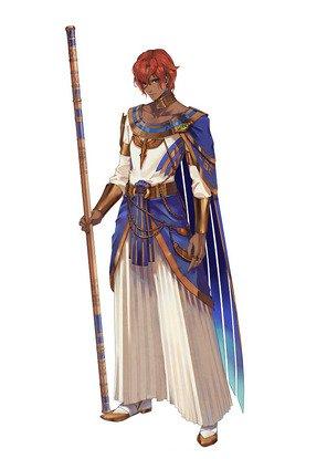 Tales of Arise - Dohalim il Qaras Character Full Body