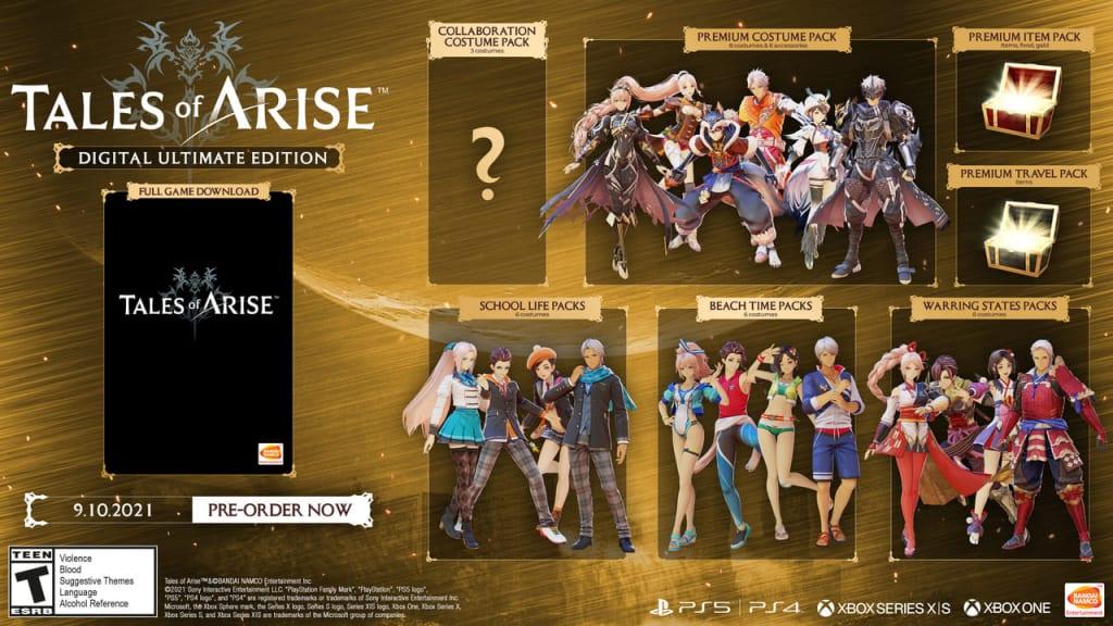 Tales of Arise - Digital Ultimate Edition