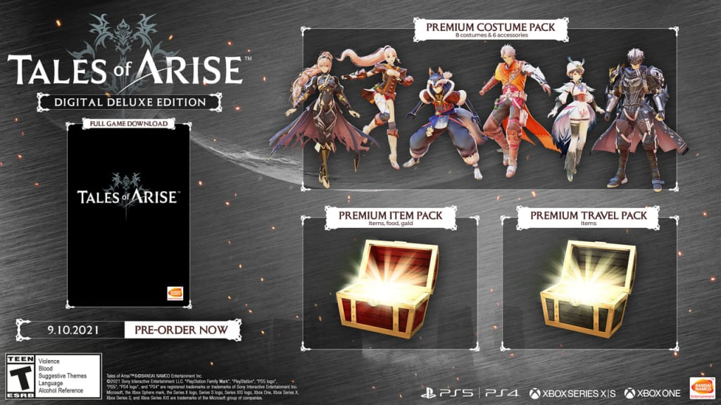 Tales of Arise - Digital Deluxe Edition
