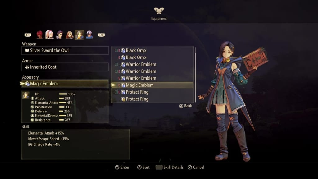 Tales of Arise - Accessory List