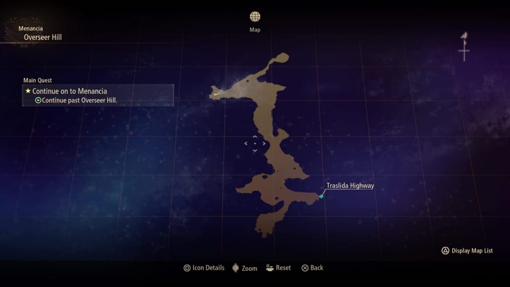 Tales of Arise - Overseer Hill Map