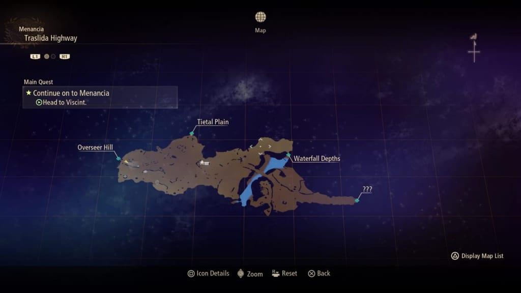 Tales of Arise - Traslida Highway Map