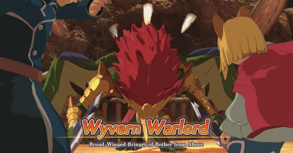 Ni no Kuni 2: Revenant Kingdom - Wyvern Warlord