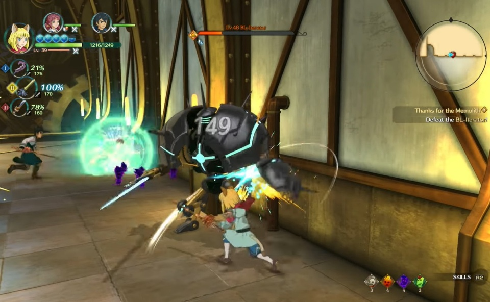 Ni no Kuni 2: Revenant Kingdom - BL-Iterator Boss Guide