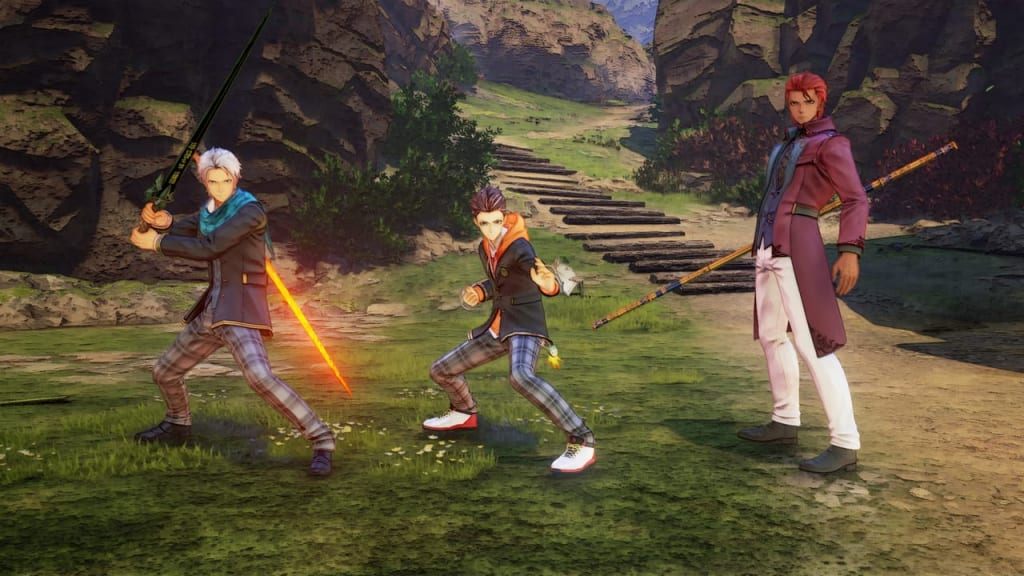 Tales of Arise - School Life Outfit Costume for Male Characters 1