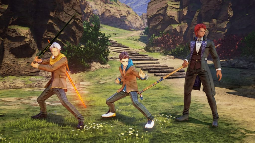 Tales of Arise - School Life Outfit Costume for Male Characters 2