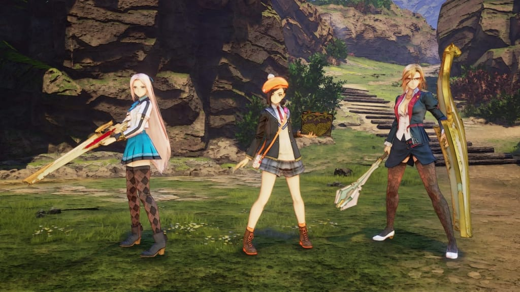 Tales of Arise - School Life Outfit Costume for Female Characters 1