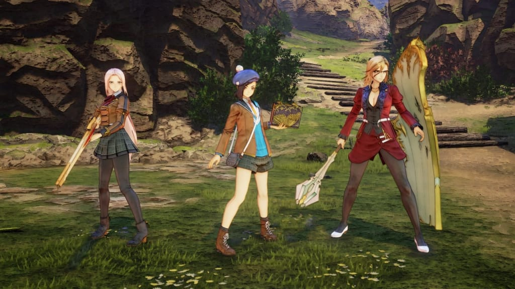 Tales of Arise - School Life Outfit Costume for Female Characters 2